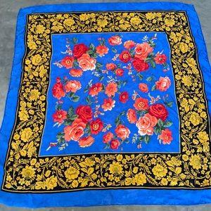 Balenciaga Silk Scarf in Vivid Silk